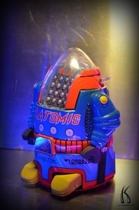 Cragstan's Mister Atomic from Kyesos private robot collection