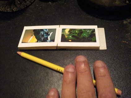 Very tiny micro book by kyesos