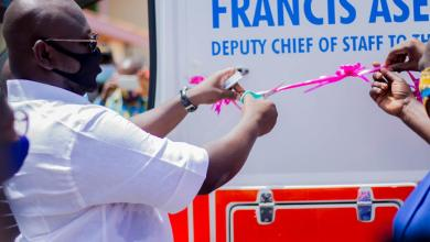 Photo of Deputy Chief of Staff Donates Ambulance & Health Equipment to Suntreso Government Hospital in Kumasi