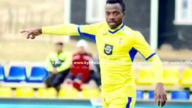 Photo of Ghanaian striker Tijani Mohammed registers two assists in B71 Sandoy big win