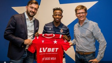 Photo of OFFICIAL: Yaw Yeboah joins Polish giant Wisla Krakow