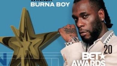 Photo of BET Awards 2020: Burna Boy wins 'Best International Act'