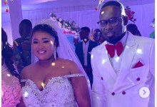 Photo of [Photos]Sports Journalist Kaninja weds actress Xandy Kamel in a colourful ceremony