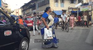A Busy Mumbai Street