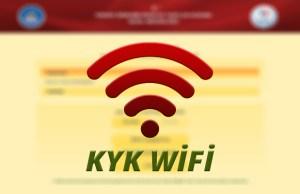 KYK Wifi Sorunları