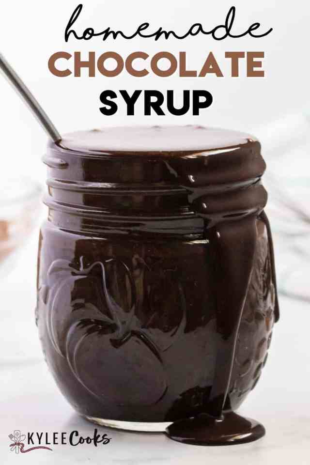 Easy Homemade Chocolate Syrup Recipe - Kylee Cooks