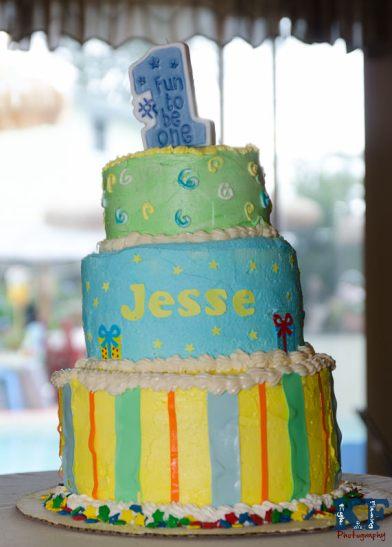 Wedding Style Birthday cake 3 tier