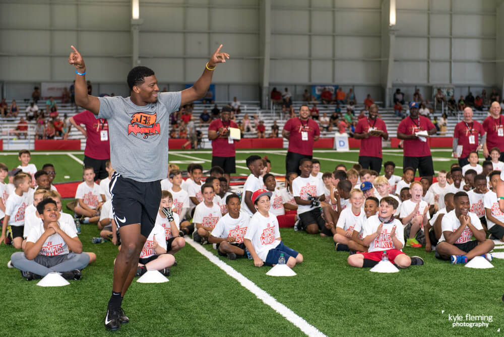 Kyle Fleming Photography - Tampa Bay Bucannerers Jameis Winston Pro Camps
