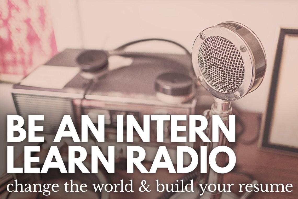 Be An Intern