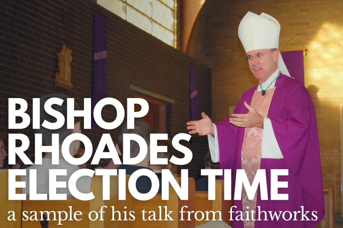 Bishop Kevin Rhoades Election