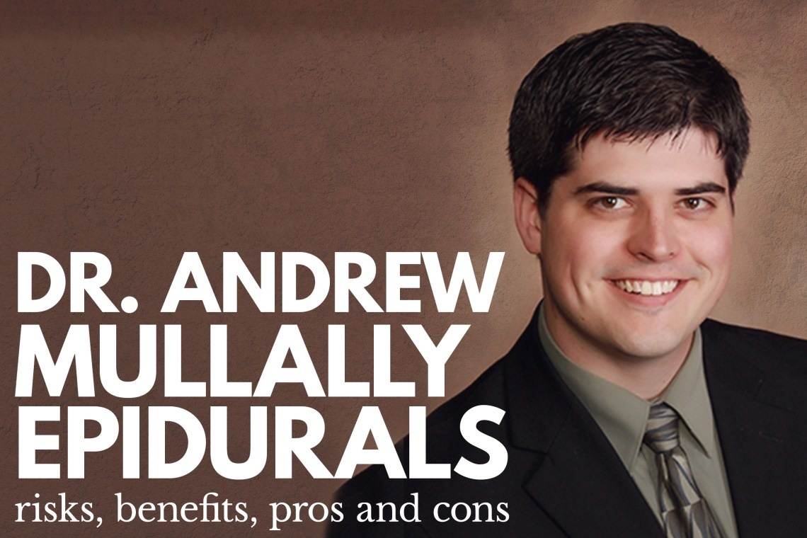 Dr Andrew Mullally Epidural