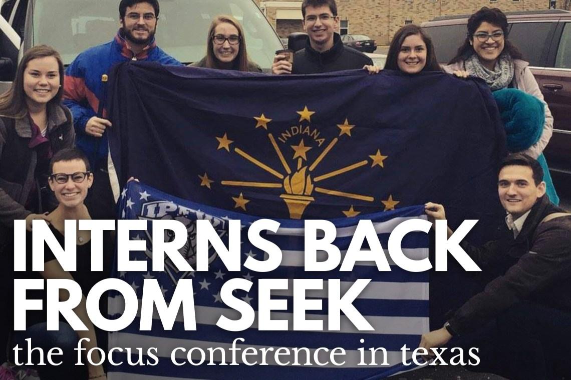 Interns Back From Seek