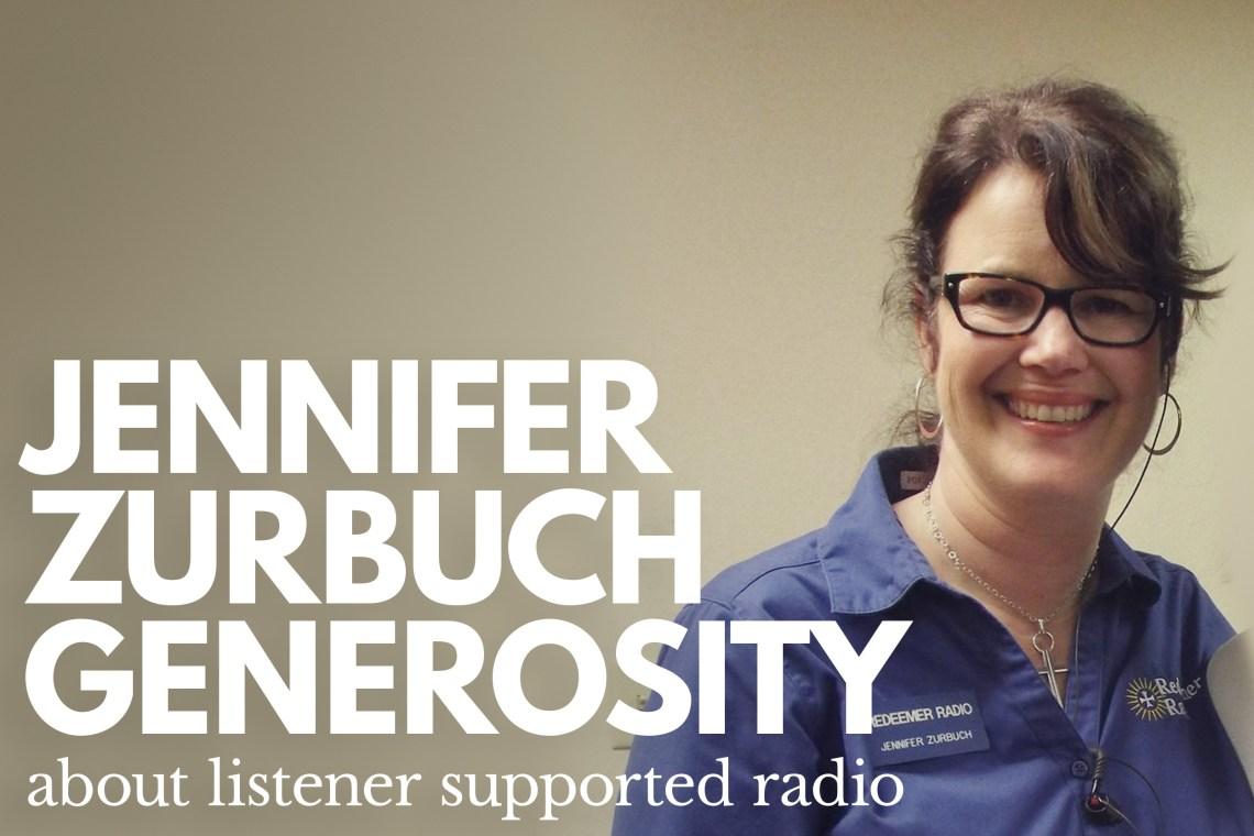 Jennifer Zurbuch Listener Support