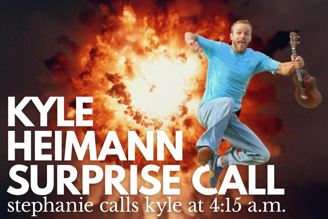 Kyle Heimann Surprise Phone Call