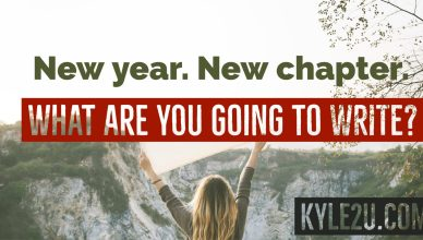 New year. New chapter. What are you going to write?