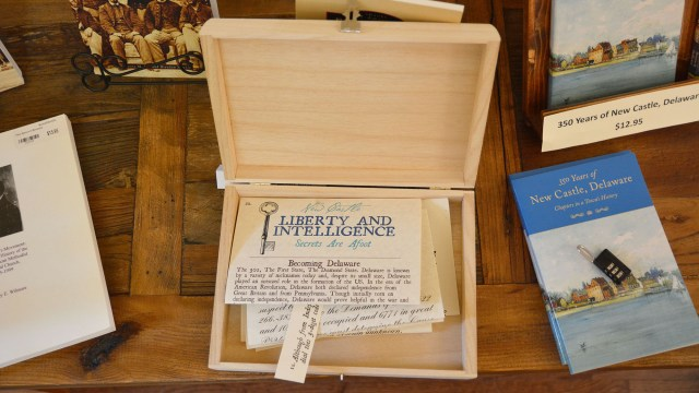 A photo of one of the kits Kyle created for Liberty and Intelligence.