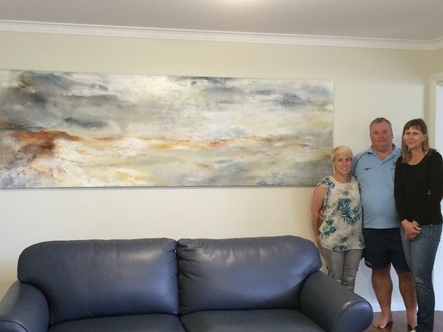 Commission, Expressive Abstract, Contemporary Art, Australian Art, Kylie Fogarty, Canberran Artist