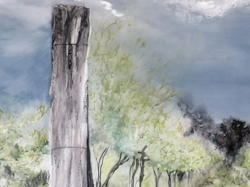 In The Vines - AiR Solo Exhibition by Kylie Fogarty