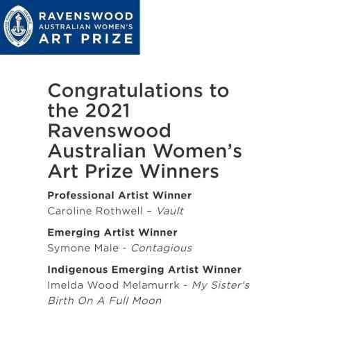 Ravenswood Australian Womens Art Prize Winners