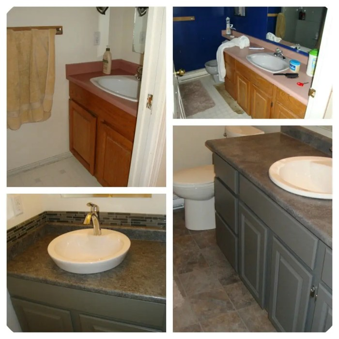 Repainting Oak Kitchen Cabinets: How To Paint Wood Furniture And Wood / Laminate Cabinets