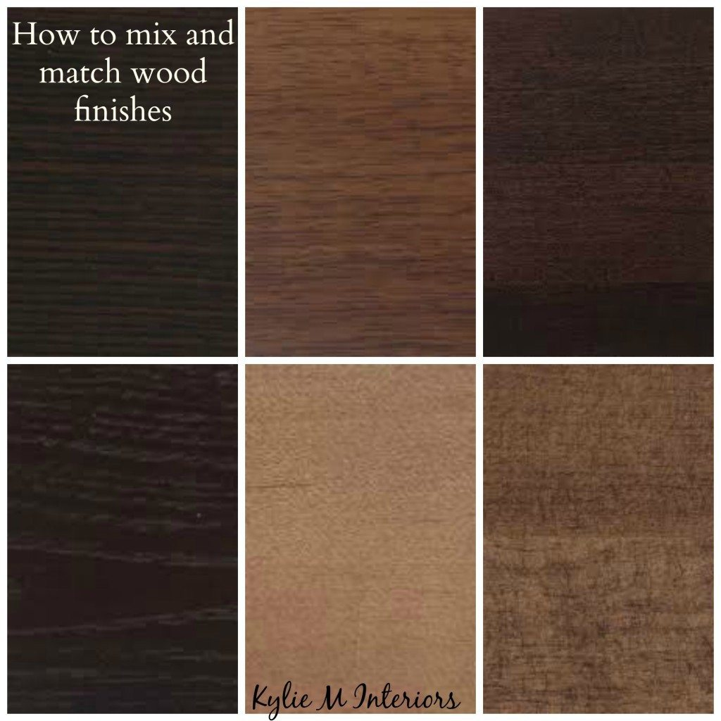 Ideas For How To Mix Match And Coordinate Wood Finishes
