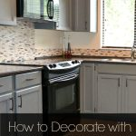 Black Appliances And White Or Gray Cabinets How To Make It Work
