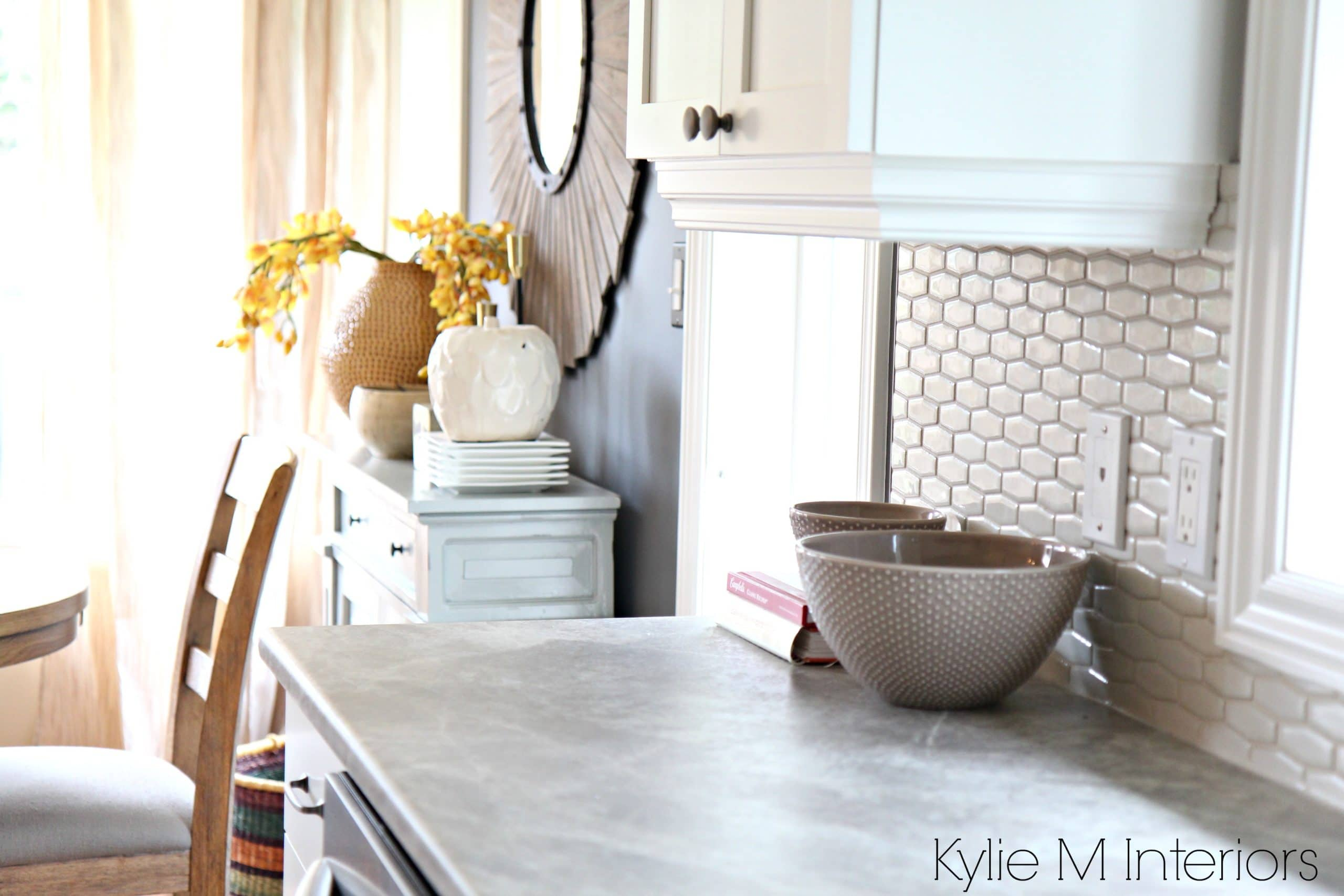 Soapstone Sequoia formica countertops with cloud white ... on Countertop Decor  id=47510