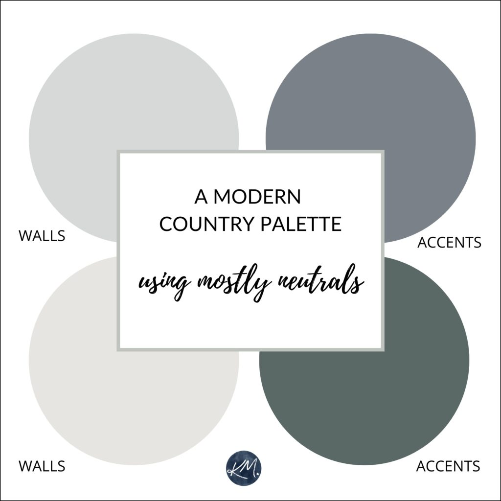 a modern country style paint palette with neutrals grey on paint colors online id=61624