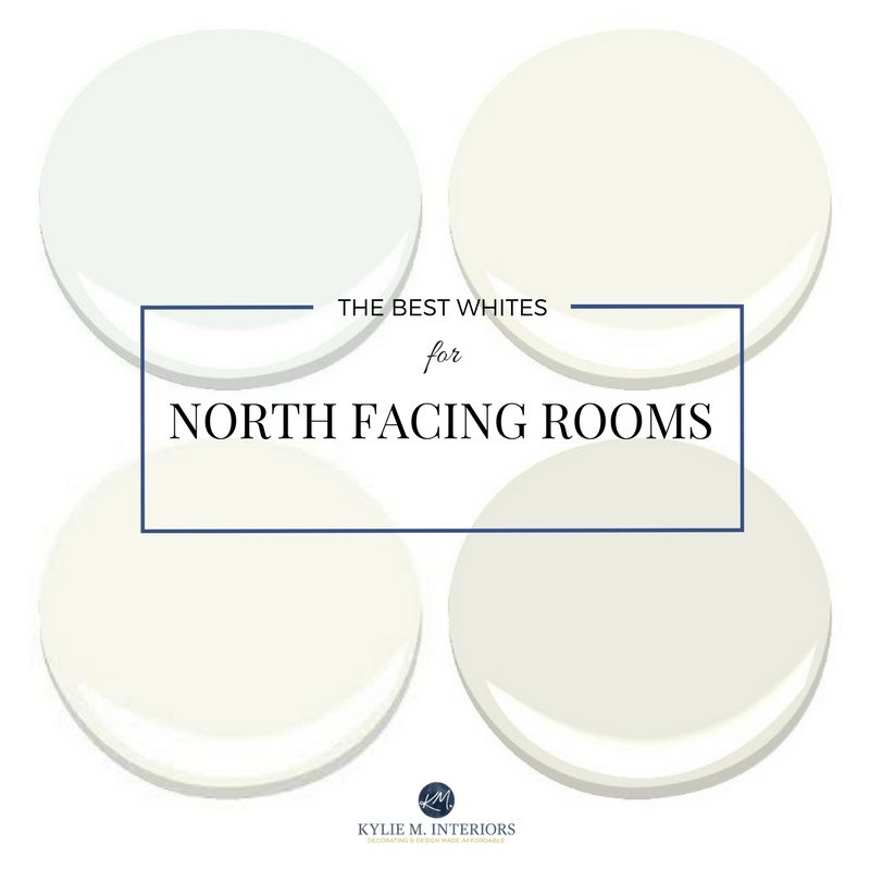 Warm colours for north facing bedrooms for Warm white paint for north facing room