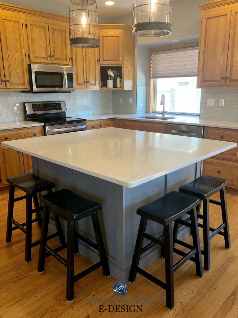 Ideas To Update Kitchen With Oak Wood Cabinets Painted
