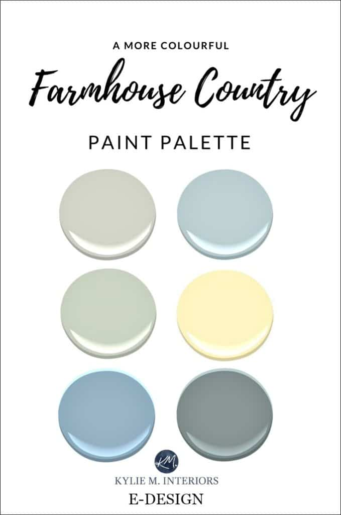 A More Colourful Farmhouse Country Paint Palette Real