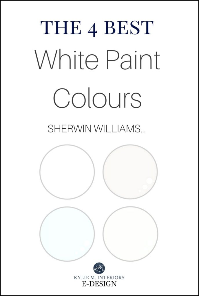 Sherwin Williams Best White Paint Colours Cabinets Trim Walls Kylie M