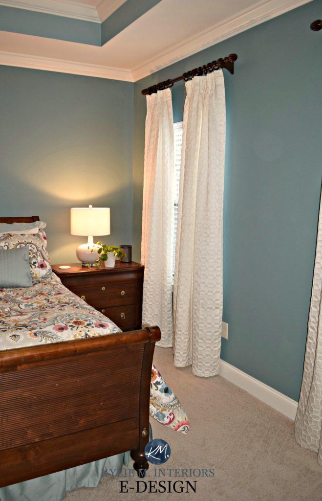 E Design A Teal Inspired Master Bedroom Makeover