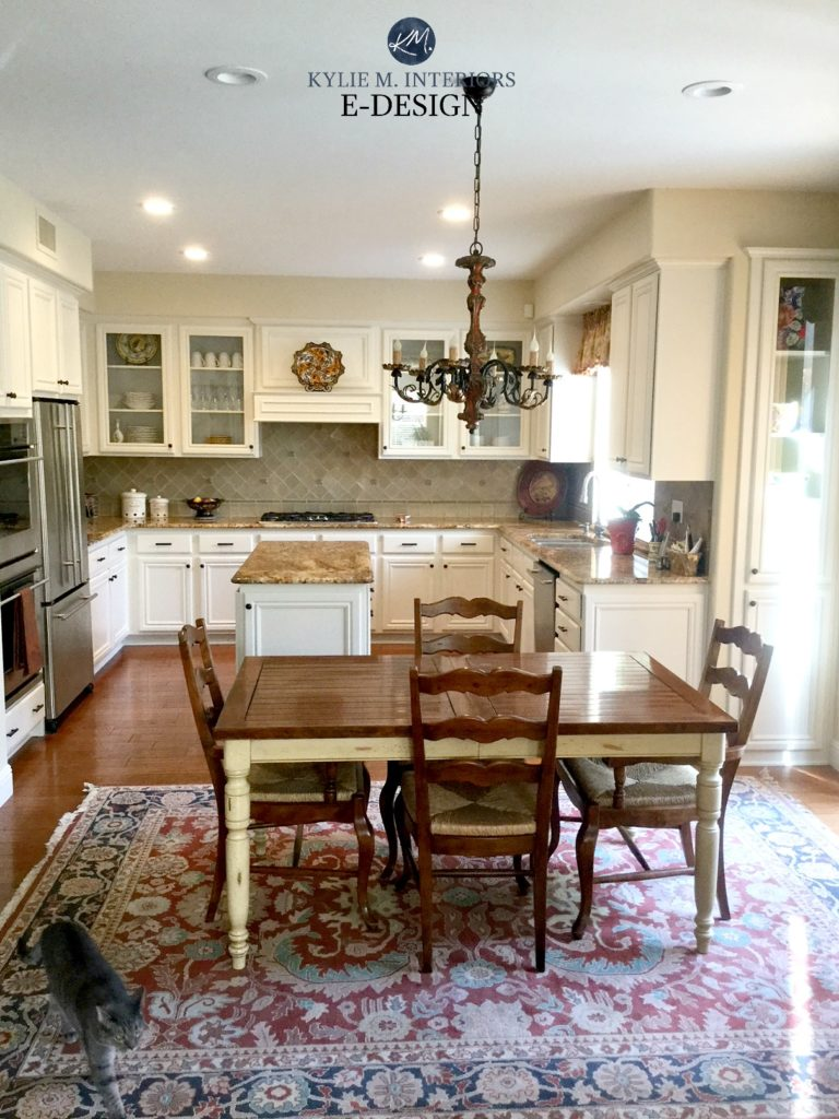 EDesign: Painted Maple Cabinets - A Gorgeous Off-White ... on Maple Cabinets Countertop Ideas  id=42161