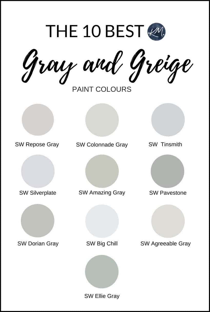 the best gray grey and greige paint colours sherwin on paint colors online id=49074