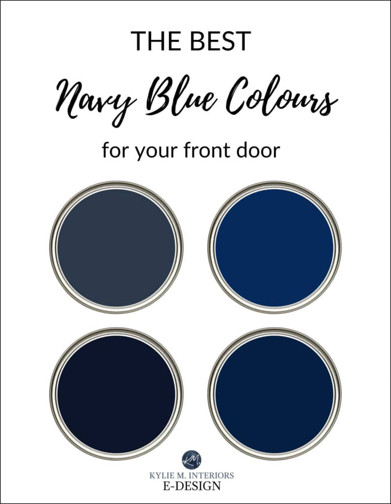 What Are The Best Paint Colours For Your Front Door