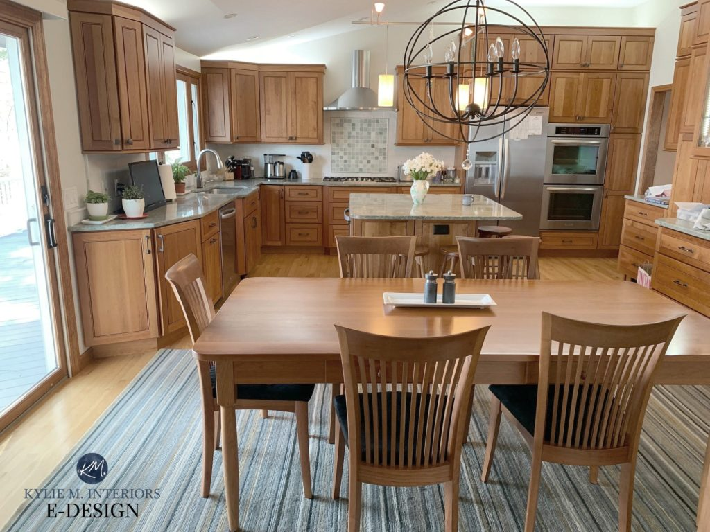 Update Oak Or Wood Cabinets Without A Drop Of Paint Kylie M Interiors