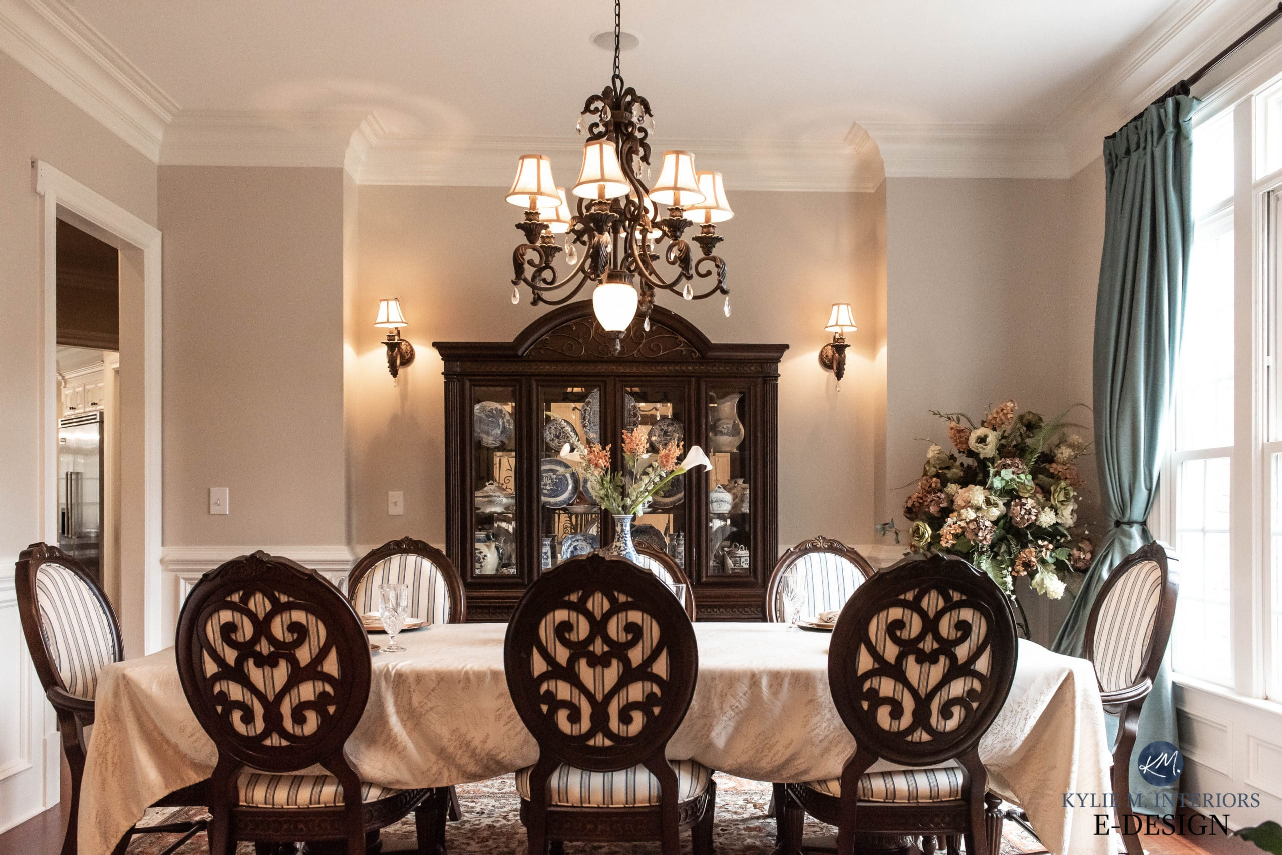 formal traditional style dining room with sherwin williams on paint colors online id=83469