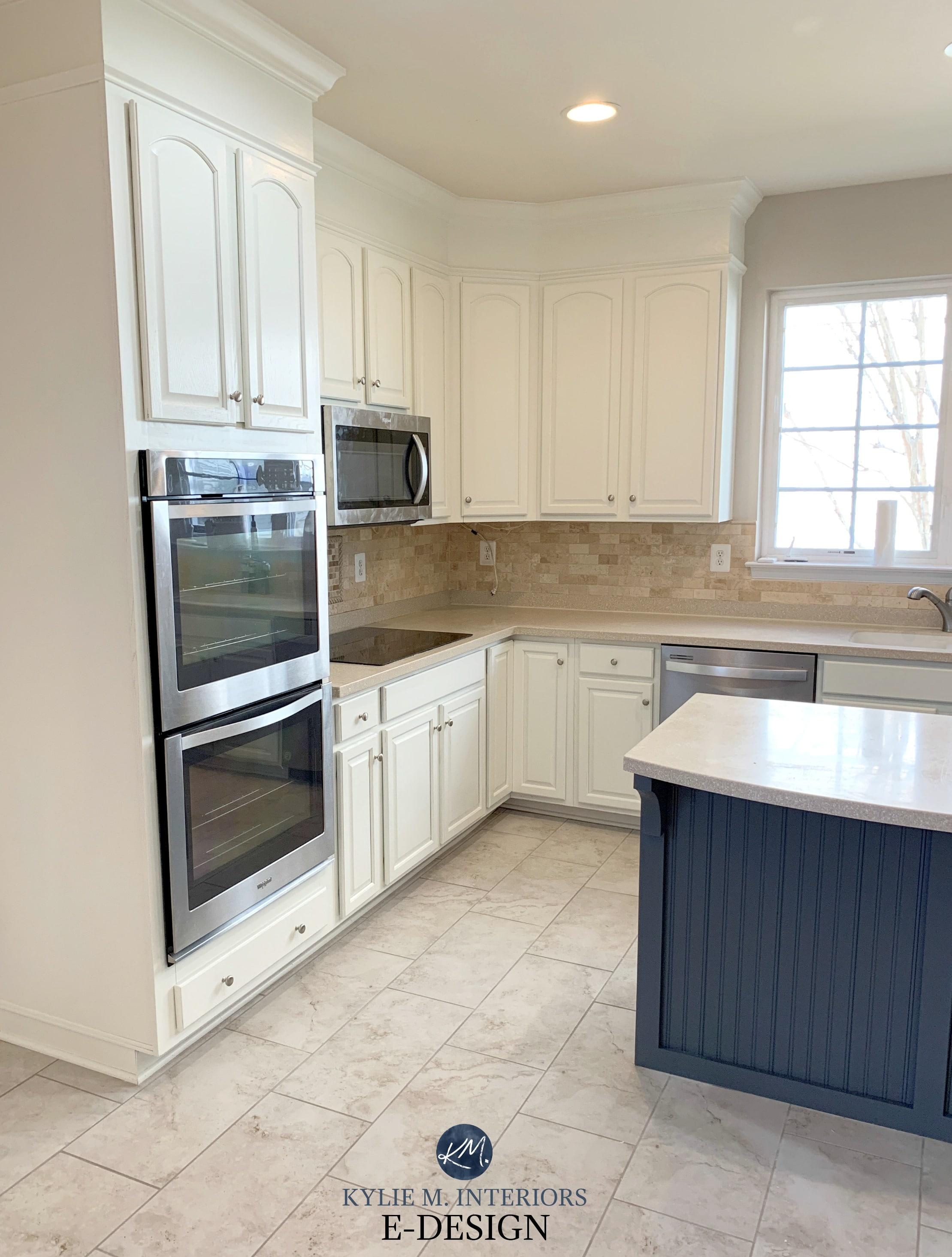 3 painted oak maple kitchen cabinet