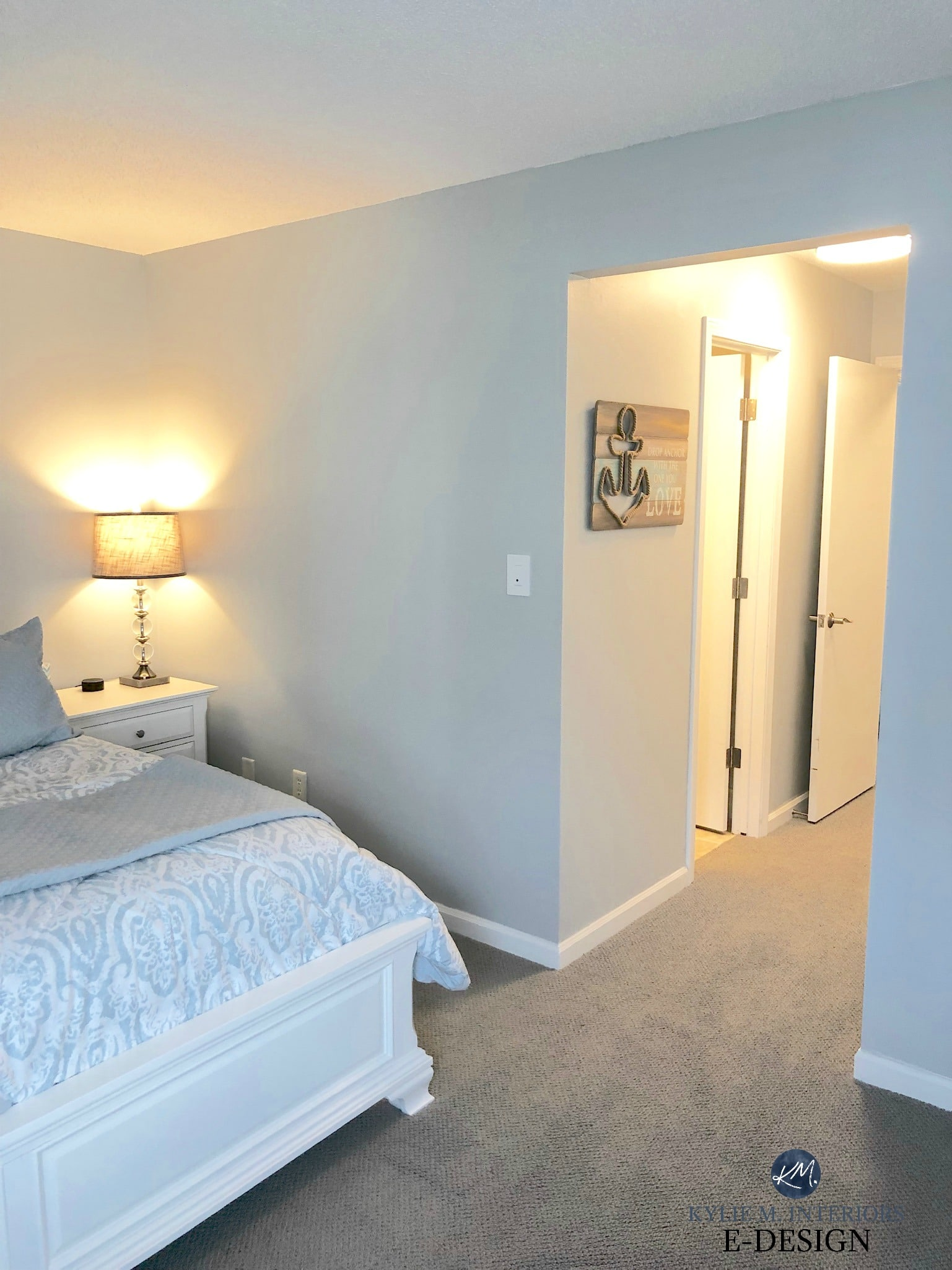 bedroom with sherwin williams tinsmith best gray paint on paint colors online id=31856