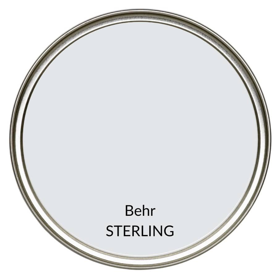 The Best Cool Gray Paint Colour Review Of Behr Sterling Kylie M Interiors Edesign Online Paint Color Advice Consultant