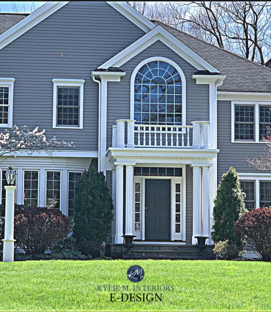 exterior painted warm gray benjamin moore graystone on benjamin moore exterior paint colors id=43280