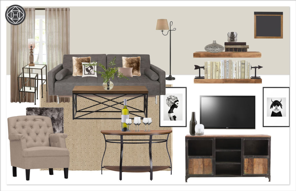 kylie T interiors Living Room 6