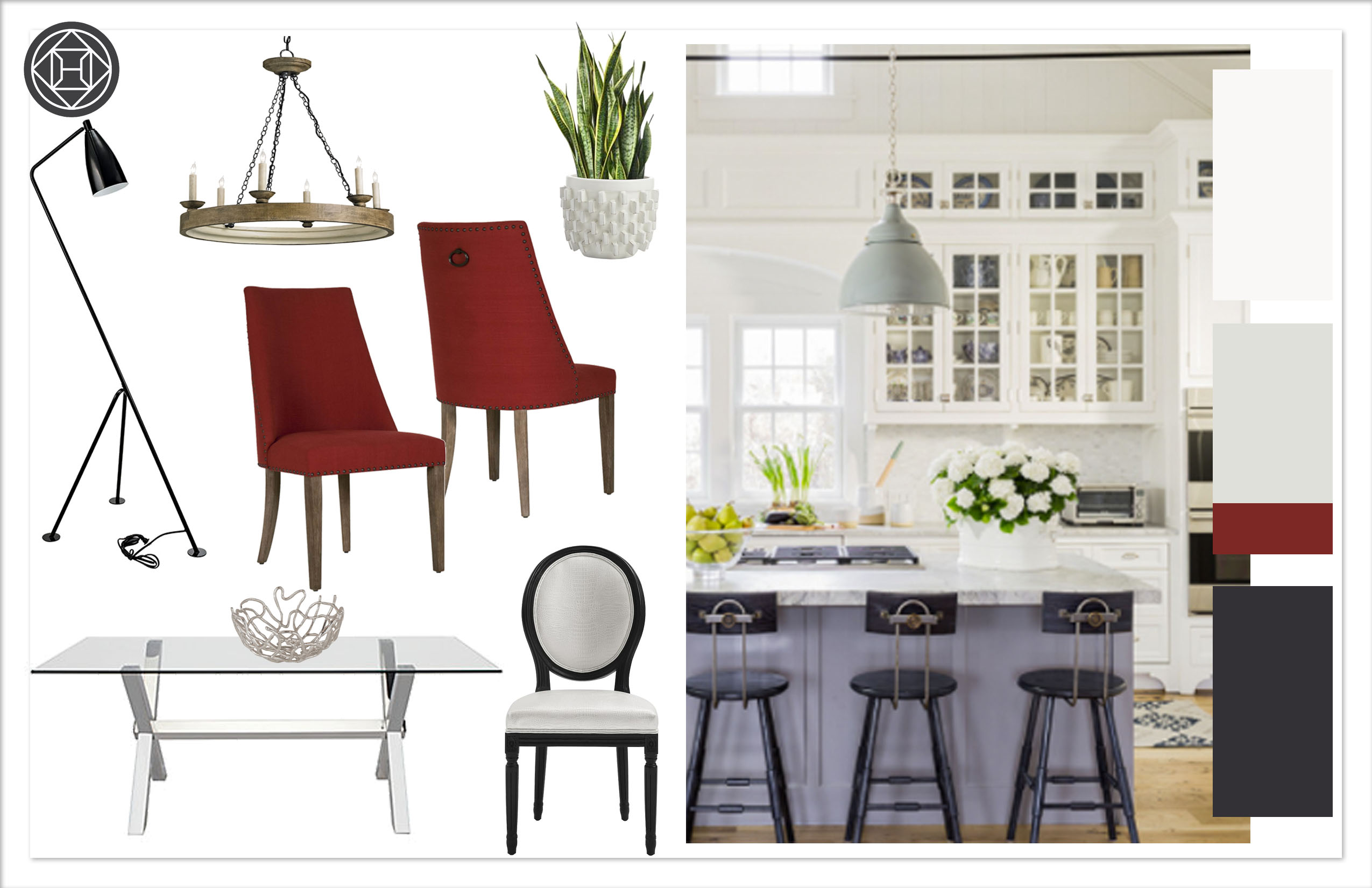 Dining Room 1, kylie T interiors
