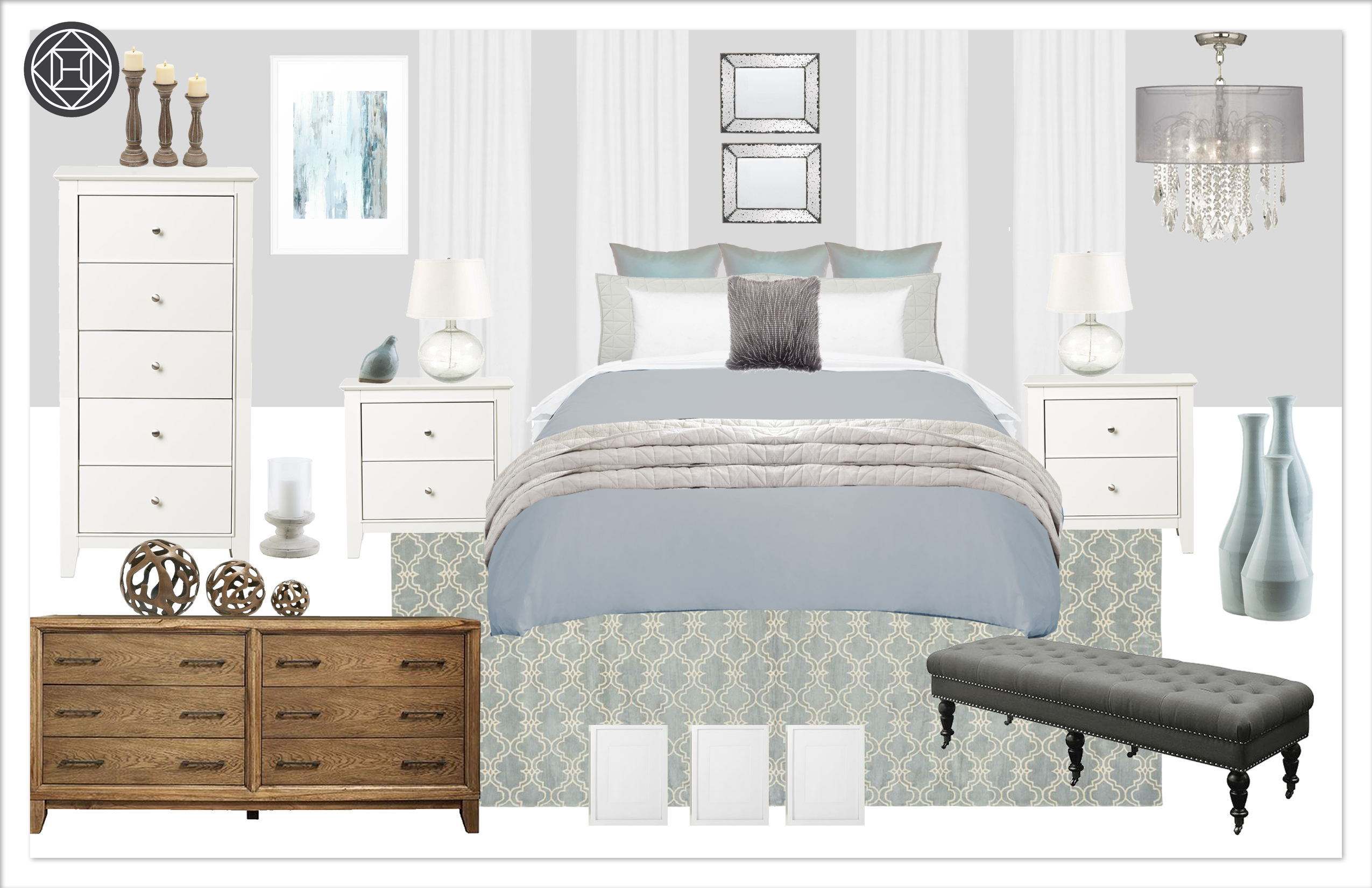 Master Bedroom 6, C1, Kylie T Interiors