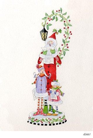 Lollystick Santa - d5667