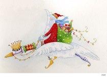 Lollystick Santa - d5683