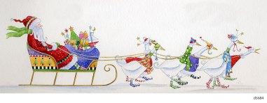 Lollystick Santa - d5684