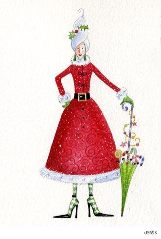 Lollystick Santa - d5693