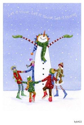 Lollystick Snowpeople - kyb422